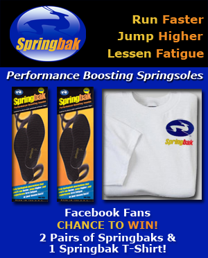 Be A Fan of Springbak on Facebook To Be Eligible!