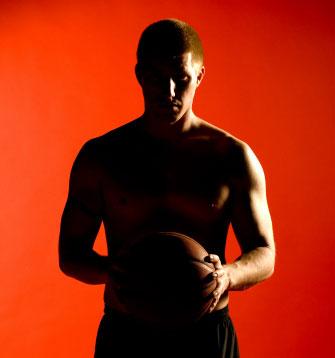 Basketball Silhoette