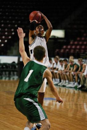 Outside Basketball Shot - Go for 3!