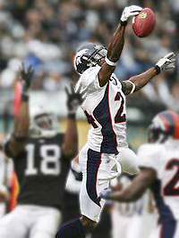 Champ Bailey, Corner Back - Denver Broncos